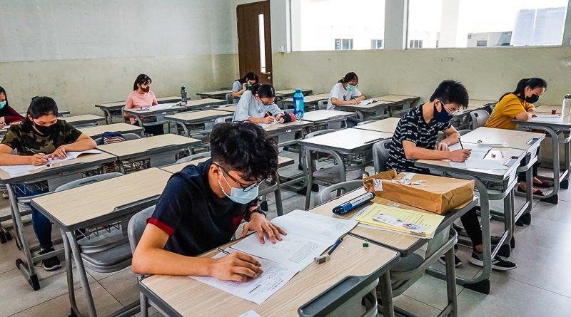 Masa pandemi tidak mengurangi semangat siswa mengikuti ujian TOCFL