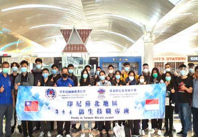 135 Siswa-siswi SMK tetap semangat sekolah ke Taiwan di masa pandemi